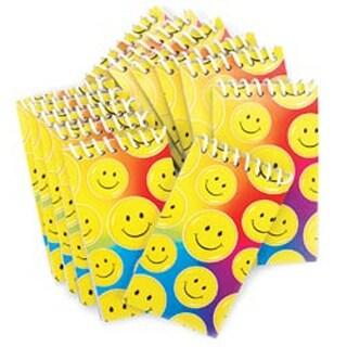 Smile Note Pads - Party Favors 12/Pkg