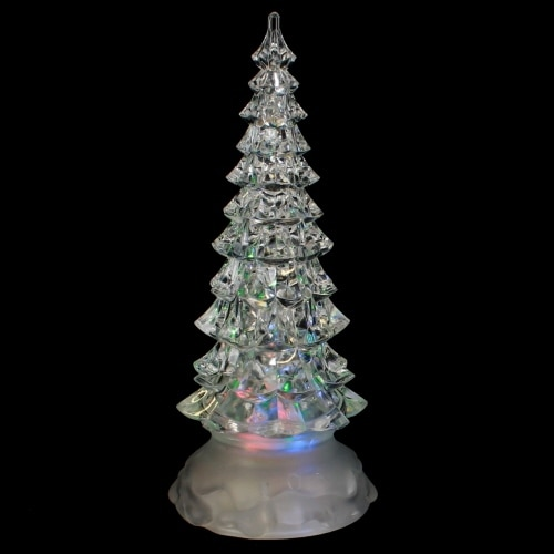 Shop Roman Inc 8 5 Quot Led Swirl Glitter Snowglobe Pine Tree