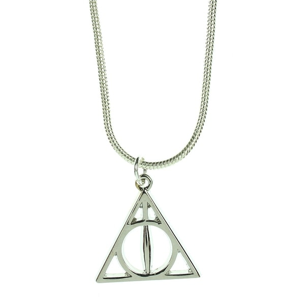 b4533f8d7 Official Harry Potter Jewelry Deathly Hallows Necklace - One Size Fits Most