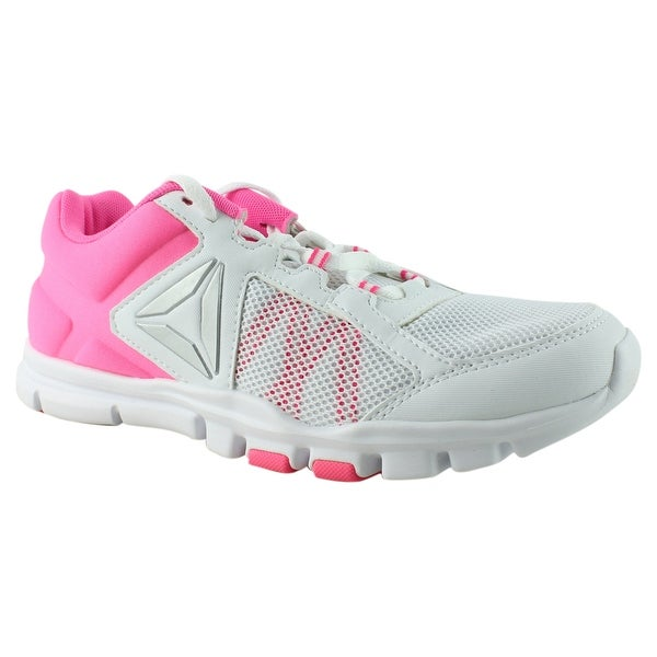 Reebok Womens yourflex trainette 9.0 mt Pink Cross Training Shoes Size 8.5  New 88c4c4958