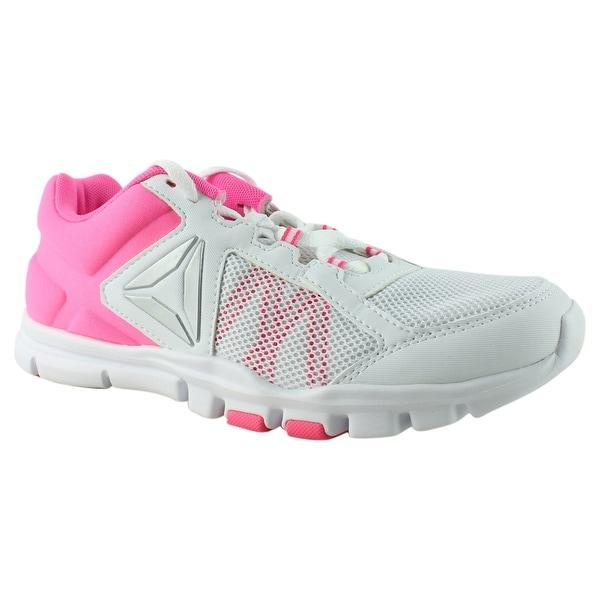 Shop Reebok Womens Yourflex Trainette 9.0 Mt Pink Cross