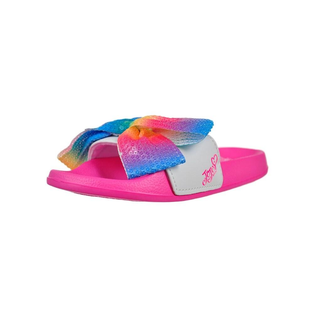 Sandals Jojo Siwa Pink Rainbow Unicorn