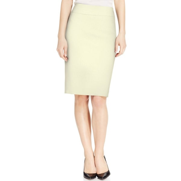 Kasper NEW White Ivory Women's Size 10P Petite Straight Pencil Skirt