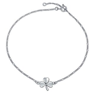 Bling Jewelry 925 Sterling Silver Clover Anklet Shamrock Ankle Bracelet|https://ak1.ostkcdn.com/images/products/is/images/direct/ca15c07a9de20c350ed934d2e3401ae4ad384009/Bling-Jewelry-925-Sterling-Silver-Clover-Anklet-Shamrock-Ankle-Bracelet.jpg?_ostk_perf_=percv&impolicy=medium
