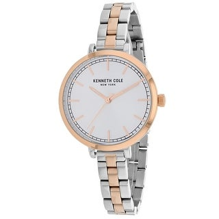Kenneth Cole Women's Classic KC50263009 Silver Dial watch