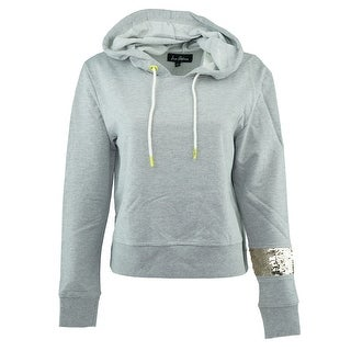 Sam Edelman Women's Sequin Band Hoodie