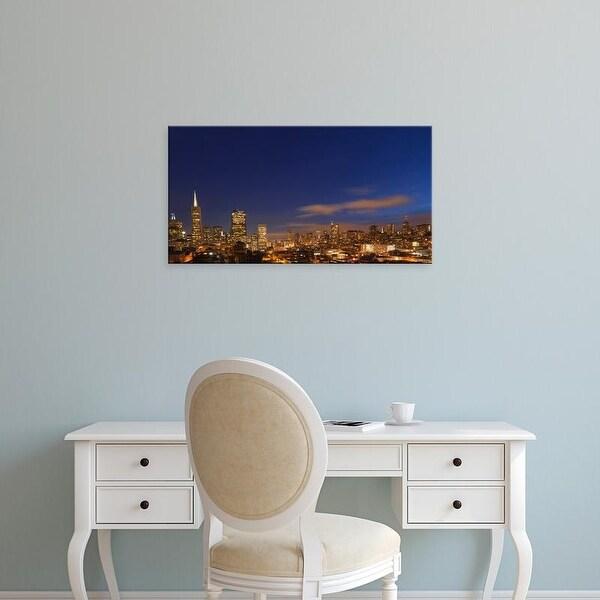 Easy Art Prints Chuck Haney's 'San Francisco' Premium Canvas Art