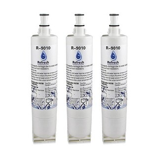 Whirlpool WF-NL300 Refrigerator Water Filter Replacement - by Refresh (3 Pack)