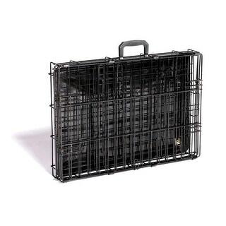 Prevue Pet Black Econo Suitcase Crate (Full Color Carton) - E431
