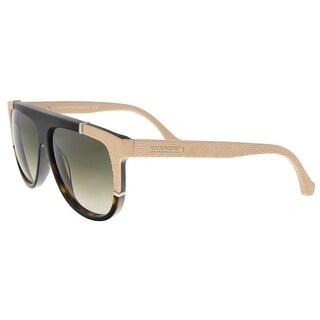 Balenciaga BA0025/S 52B Black/Nude Square Sunglasses - 58-13-140