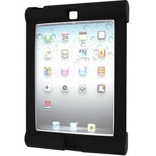 Seal Shield SBUMPERIA Seal Shield Silicone Bumper Case for iPad Air Black Antimicrobial - iPad Air - Black - Silicone