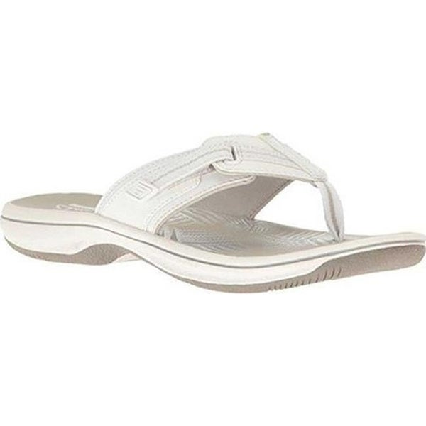 269278863a55 Shop Clarks Women s Brinkley Jazz White Synthetic III - Free ...