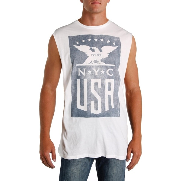 ae534823dafb1 Shop Denim   Supply Ralph Lauren Mens Tank Top Graphic Crew Neck - Free  Shipping On Orders Over  45 - Overstock - 22581907