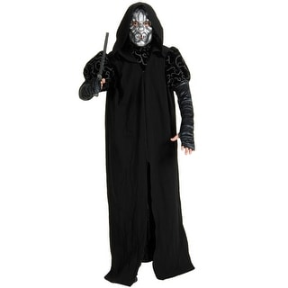 Rubies Death Eater Deluxe Robe Adult Costume - Black - Standard