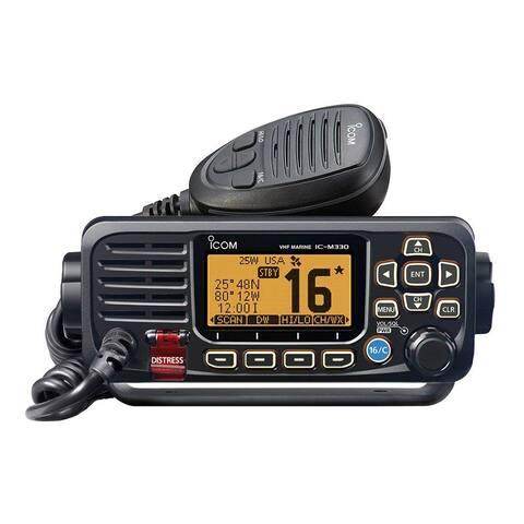Icom M330 Compact VHF Radio - Black M330 Compact VHF Radio - Black