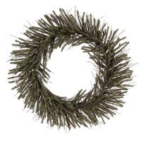 "20"" Vienna Twig Wreath 240 Tips"