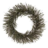 "24"" Vienna Twig Wreath 300 Tips"