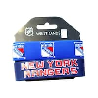 New York Rangers Rubber Wrist Band Set