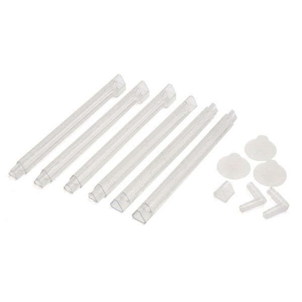 Solarmax 20 T5 Aquarium Tank Strip Light Fixture 120: Shop Clear Plastic Air Curtain Set Bubble Diffuser For