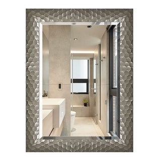 Link to Copper Grove Bringamosa Glam Beveled Honeycomb Venetian Wall Mirror - 24*32*0.75 Similar Items in Mirrors