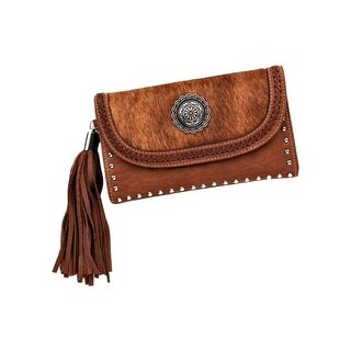 Blazin Roxx Western Wallet Womens Ella Faux Calf Brown N7533302 - One size