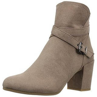 Madden Girl Womens Rightonn Ankle Boots Microfiber Heels