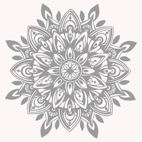 Mandala Wall Decal Bedroom. Large Mandala Sticker