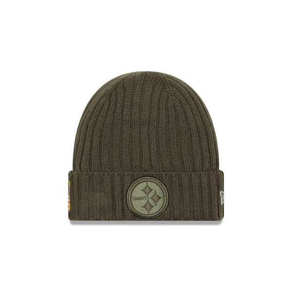 Shop Pittsburgh Steelers 2017 Salute to Service Knit Hat - Free Shipping On  Orders Over  45 - Overstock - 18681815 c43aee27e