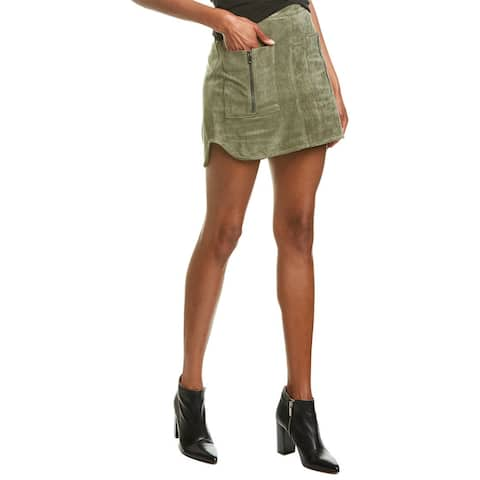 Bcbgmaxazria Pocket Mini Skirt