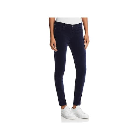 Adriano Goldschmied Womens Jeggings Velvet Stretch