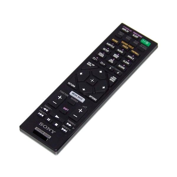 OEM Sony Remote Control Originally Shipped With: MHC-V7D, HCDSHAKEX1, HCD-SHAKEX1, MHCGT3D, MHC-GT3D