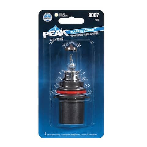 Peak 9007-BPP Automotive Classic Vision Halogen Lamp, 12.8 V