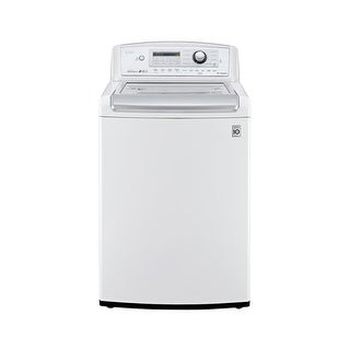 LG WT5270C 27 Inch Wide 4.9 Cu.Ft. Energy Star Rated Top Loading Washer with Hig