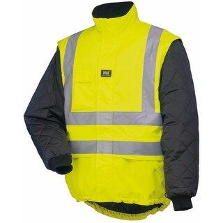 Helly Hansen Workwear Mens Potsdam Lining - En471 Yellow/Black - 5XL