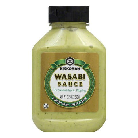 Kikkoman Wasabi Sauce, 9.25 OZ (Pack of 9)