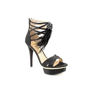 Enzo Angiolini Langford Women Open Toe Canvas Sandals