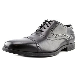 Cole Haan Montgomery Cap Ox Men Round Toe Leather Black Oxford
