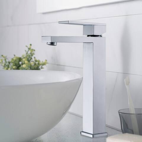 Single Hole chrome Sink bathroom tap Vessel Faucet