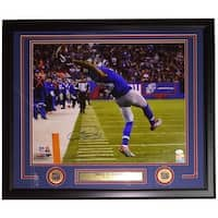 Odell Beckham Jr. Signed & Framed NY Giants The Catch Licensed 16x20 Photo JSA
