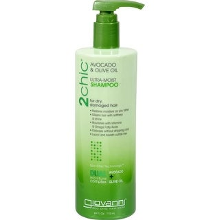 Giovanni Hair Care Products - 2Chic Avocado And Olive Oil Shampoo ( 1 - 24 FZ)