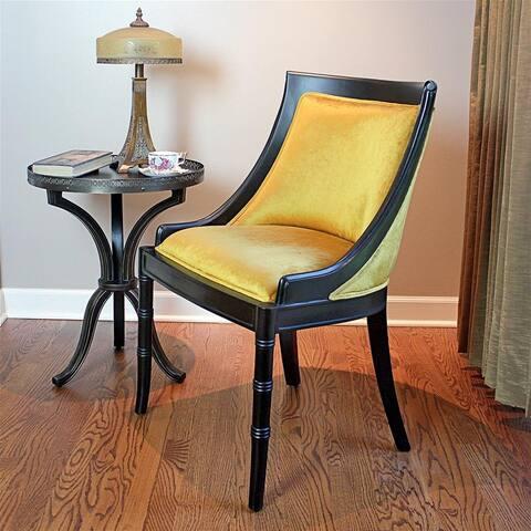 Emperor Caesar Neoclassical Swing Back Side Chair
