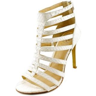 Vince Camuto Kamella Women Open Toe Synthetic Ivory Gladiator Sandal