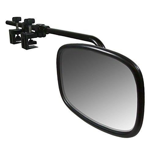 CIPA 11980 Black Universal Bar Towing Mirror Kit