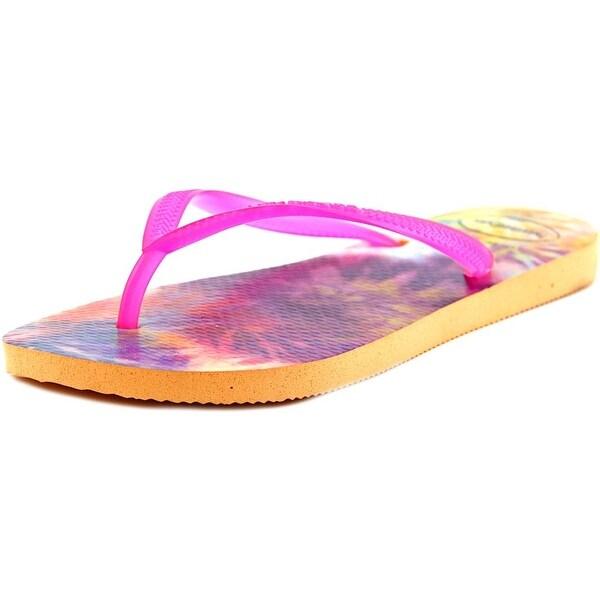 Havaianas Slim Tie Dye Women  Open Toe Synthetic  Flip Flop Sandal