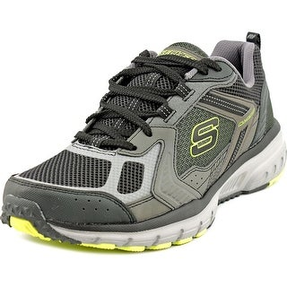Skechers Geo-Trek-Pro Force Men  Round Toe Canvas Gray Sneakers