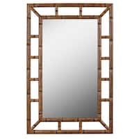 Kenroy Home 60226 Aviary 26 Inch x 40 Inch Rectangular Plastic Framed Mirror