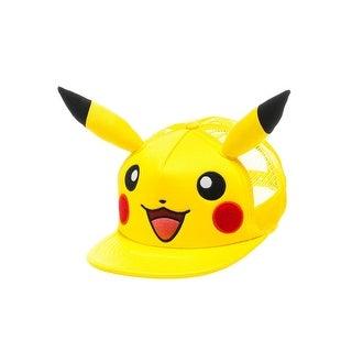 Pokemon Pikachu Face Hat