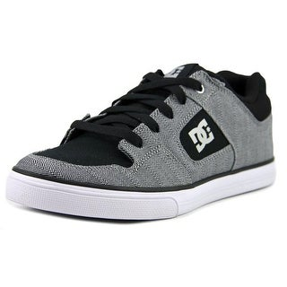 DC Shoes Pure TX SE Youth  Round Toe Synthetic Black Skate Shoe