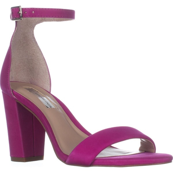 I35 Kivah Ankle Strap Dress Sandals, Deep Fuchsia