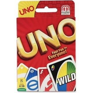 Skilcraft MTT42003 Mattel Uno Card Game
